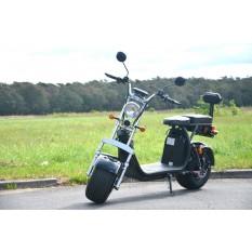 Coco Bike Fat E-Scooter mit Straßenzulassung bis zu 40 km/h schnell - 35km Reichweite, 60V | 1500W | 12AH Akku