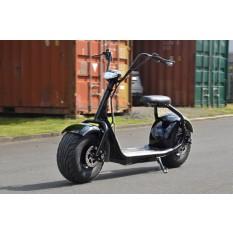 Coco Bike Fat E-Scooter bis zu 40 km/h schnell - 35km Reichweite, 60V | 1000W | 12AH Akku, Bremsen und Licht