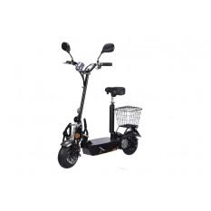 E-Scooter bis zu 35 km/h schnell - 25km Reichweite, 36V | 1000W | 12AH Akku, mit Straßenzulassung -BEEC