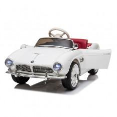 "Kinderfahrzeug - Elektro Auto ""BMW 507 Oldtimer"" - lizenziert - 12V7AH, 2 Motoren- 2,4Ghz Fernsteuerung, MP3, Ledersitz+EVA"