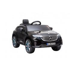 "Kinderfahrzeug - Elektro Auto ""Mercedes EQC"" - lizenziert - 12V Akku und 2 Motoren- 2,4Ghz + MP3 + Leder + EVA"