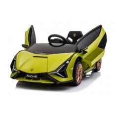 """Elektro Kinderauto """"Lamborghini Sian"""" - lizenziert - 12V Akku, 2 Motoren- 2,4Ghz Fernsteuerung, MP3, Ledersitz+EVA"""