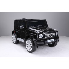 "Kinderfahrzeug - Elektro Auto ""Mercedes G500"" - lizenziert - 12V Akku,2 Motoren+ 2,4Ghz+Ledersitz+EVA"