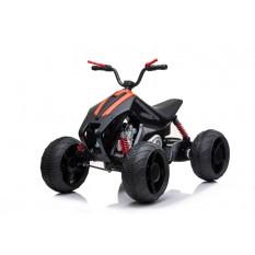 """Kinderfahrzeug - Elektro Kinderquad """"718"""" 2x35W, 12V7Ah - Orange-Schwarz"""