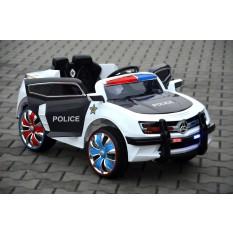 "Kinderfahrzeug - Elektro Auto ""Polizei Design"" - 12V7AH Akku,2 Motoren- 2,4Ghz Fernsteuerung, MP3+LED - 028"