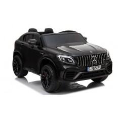 "Kinderfahrzeug - Elektro Auto ""Mercedes GLC63S"" - lizenziert - Doppelsitzer - 12V10AH Akku,4 Motoren+ 2,4Ghz+Ledersitz"