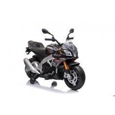 """Elektro Kindermotorrad """"Aprilia Tuono V4"""" - Lizenziert - 12V - 2 Motoren - MP3"""