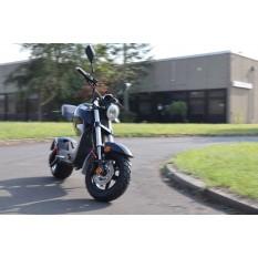 Elektro Scooter Motorrad mit Straßenzulassung bis zu 45 km/h schnell - ca. 40-45 km Reichweite, 60V | 1500W | 12AH Akku - C1