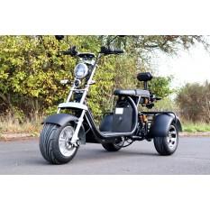 Coco Bike E-Scooter mit Straßenzulassung und drei Räder Trike ca. 35km Reichweite, 60V | 2000W | 12AH Akku