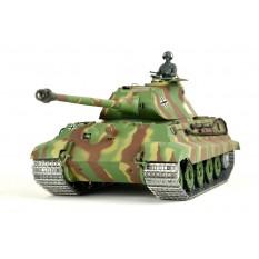 """RC Panzer """"Deutscher Königstiger"""" 1:16 Heng Long mit Rauch&Sound, Metallgetriebe,Metallketten und 2,4Ghz Funke -PRO"""