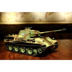 """RC Panzer """"Panther G"""" Heng Long 1:16 mit Rauch&Sound und Stahlgetriebe - 2,4Ghz -V 6.0"""