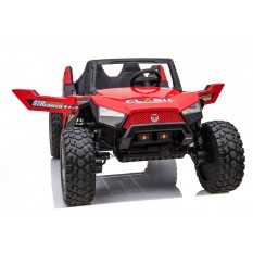 """Kinderfahrzeug - Elektro Auto """"Buggy 928"""" - 2x 12V7A Akku,4x75W Motoren- 2,4Ghz, Allrad+2 Sitzer+Ledersitz+EVA"""