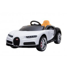 "Kinderfahrzeug - Elektro Auto ""Bugatti Chiron"" - lizenziert - 12V7AH, 2 Motoren- 2,4Ghz Fernsteuerung, MP3, Ledersitz+EVA"