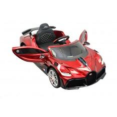 "Kinderfahrzeug - Elektro Auto ""Bugatti Divo"" - lizenziert - 12V7AH, 2 Motoren- 2,4Ghz Fernsteuerung, MP3, Ledersitz+EVA+Lackiert"