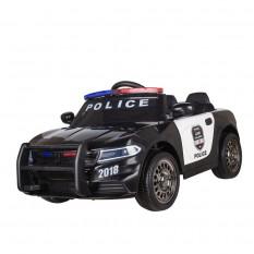 """Kinderfahrzeug - Elektro Auto """"Polizei Design -66"""" - 12V7AH Akku,2 Motoren- 2,4Ghz Fernsteuerung, MP3"""