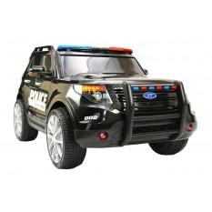 "Kinderfahrzeug - Elektro Auto ""US Police SUV"" - 12V7AH Akku,2 Motoren- 2,4Ghz Fernsteuerung, MP3+Sirene"