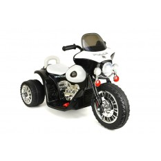 "Elektro Kindermotorrad - ""Police Design""- 6V Akku - Schwarz oder Rosa"