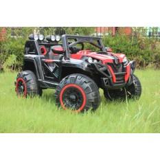 "Kinderfahrzeug - Elektro Auto ""Buggy 898"" - 2x 12V7AH Akku und 4 Motoren- 2,4Ghz Ferngesteuert +MP3"