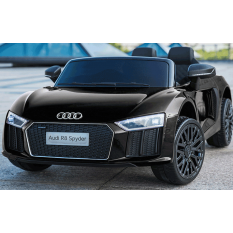 "Kinderfahrzeug - Elektro Auto ""Audi R8B"" - lizenziert - 12V7Ah Akku und 2 Motoren- 2,4Ghz + MP3 + Leder + EVA"