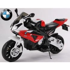 "Kinderfahrzeug - Elektro Kindermotorrad - von BMW lizenziert ""S1000RR"" 12V7Ah- rot"