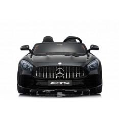 "Kinderfahrzeug - Elektro Auto ""Mercedes GT R Doppelsitzer"" - lizenziert - 12V10AH, 2 Motoren- 2,4Ghz Fernsteuerung, MP3, Ledersitz+EVA"