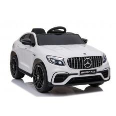 "Kinderfahrzeug - Elektro Auto ""Mercedes GLC63S - M"" - lizenziert - 12V7AH Akku,4 Motoren+ 2,4Ghz+Ledersitz+EVA"