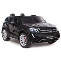 "Kinderfahrzeug - Elektro Auto ""Mercedes GLS63 AMG"" - lizenziert - 2x 12V7AH Akku,4 Motoren- 2,4Ghz Fernsteuerung, MP3+EVA+Ledersitz"