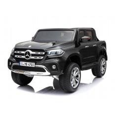 "Kinderfahrzeug - Elektro Auto ""Mercedes X-Klasse"" - lizenziert - Doppelsitzer - 12V10AH Akku,4 Motoren+ 2,4Ghz+Ledersitz+EVA"