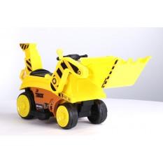 Kinderfahrzeug - Elektro Auto Bagger / Traktor - 6V4,5AH Akku mit Schaufel
