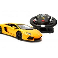 RC Auto Lamborghini Aventador lizenziert - mit Lenkrad-1:14