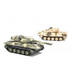 RC Panzer Battle 2er Set - Infrarot Kampfsystem - Gefechtssimulation