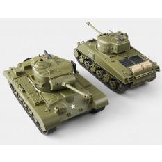 RC Panzer Battle 2er Set - Infrarot Kampfsystem - Gefechtssimulation - 1:30 von Heng Long