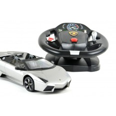RC Auto Lamborghini Reventon Spyder lizenziert - mit Lenkrad-1:14
