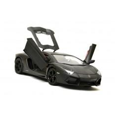 RC Auto Lamborghini Aventador mit Lizenz -Metall- 1:24 -schwarz