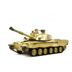 """RC Panzer """"Britischer Challenger 2"""" Heng Long 1:16 mit Rauch&Sound und Metallgetriebe -2,4Ghz"""