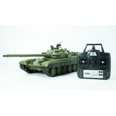 """RC Panzer """"Russicher T-72"""" Heng Long 1:16 mit Rauch&Sound und Stahlgetriebe -2,4Ghz V 6.0"""