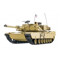 """RC Panzer """"M1A2 Abrams"""" 1:16 Heng Long -Rauch&Sound, Stahlgetriebe, Metallketten, 2,4Ghz V7.0 - Upg-A"""