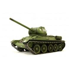 """RC Panzer """"Russischer T-34/85"""" 1:16 Heng Long -Rauch&Sound + Metallgetriebe und 2,4Ghz"""