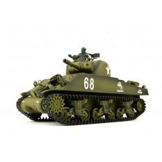 "RC Panzer ""US M4A3 Sherman"" Heng Long 1:16 mit Rauch&Sound+Stahlgetriebe und 2,4Ghz -V 6.0"