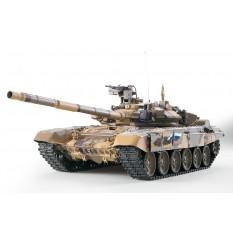 """RC Panzer """"Russland T90"""" Heng Long 1:16 mit Rauch&Sound und Metallgetriebe -2,4Ghz"""