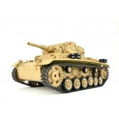 """RC Panzer """"Tauchpanzer III"""" 1:16 Heng Long -Rauch&Sound + Metallgetriebe"""