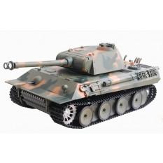 "RC Panzer ""German Panther"" 1:16 Heng Long -Rauch&Sound+Metallgetriebe und 2,4Ghz"