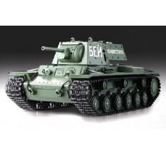 """RC Panzer Russicher """"Soviet Union KV-1"""" 1:16 HL -Rauch&Sound und 2,4Ghz"""