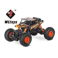 """RC Elektro Monster Truck 1:18 mit 2,4Ghz, Allradantrieb """"Crawler 428B"""" von WL Toys"""