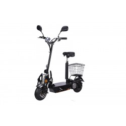 E-Scooter bis zu 35 km/h schnell - 25km Reichweite, 36V   1000W   12AH Akku, mit Straßenzulassung -BEEC