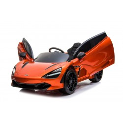 """Kinderfahrzeug - Elektro Auto """"McLaren 720S"""" - lizenziert - 12V7AH, 2 Motoren- 2,4Ghz Fernsteuerung, MP3, Ledersitz+EVA+Lackiert"""