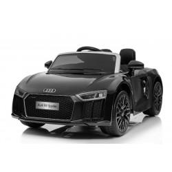 "Kinderfahrzeug - Elektro Auto ""Audi R8"" - lizenziert - 12V7AH Akku und 2 Motoren- 2,4Ghz + MP3 + Leder + EVA"