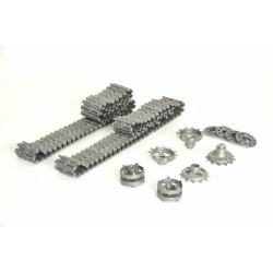 Aufrüstungssatz für Panzer: Metallkettenset für Heng Long Russicher T-90 3938