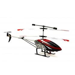 "RC 3,5 Kanal Hubschrauber, Aluminium ""CX020"" -GYRO -50cm -rot"