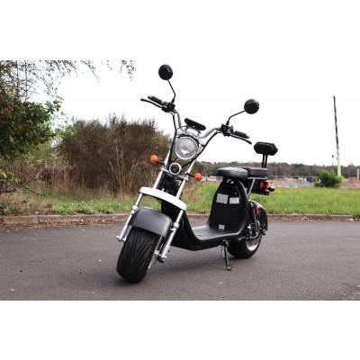Coco Bike Fat E-Scooter mit Straßenzulassung bis zu 48 km/h schnell - mit Alu Felgen, 60V   1500W   12AH Akku -CP1.6